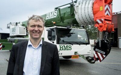 BMS bliver halvpartsejere i Norges største kranfirma