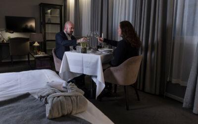 Bühlmann-hoteller har succes med corona-rigtige gourmet på værelserne