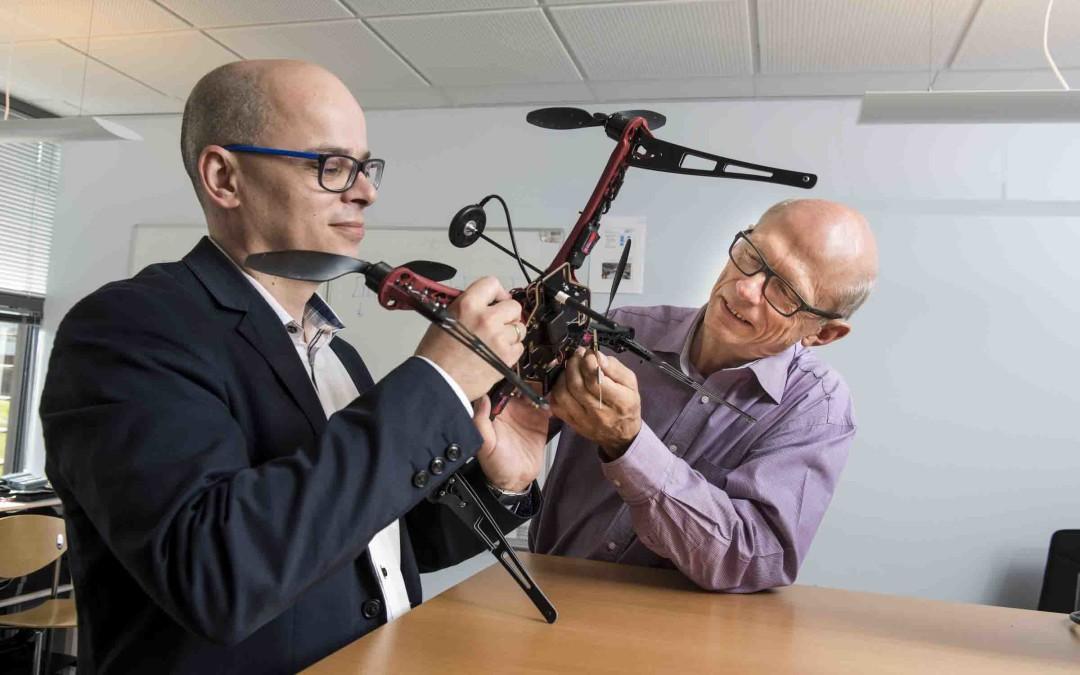 Snart kan droneejeren  spores med en app.